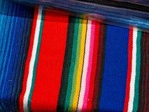 Panno festivo messicano del tessuto Immagini Stock Libere da Diritti