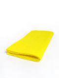 Panno giallo Fotografia Stock