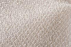 Panno lucido bianco Fotografia Stock