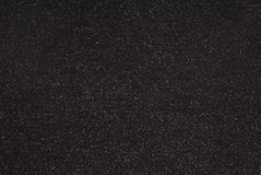 Panno nero del lurex fotografia stock libera da diritti