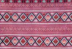 Panno tessuto tailandese Fotografia Stock