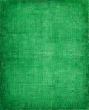 Panno verde dell'annata Immagine Stock