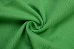 Panno verde fatto dalla fibra del cotone Fotografia Stock
