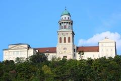Pannonhalma Abbey Arkivfoton