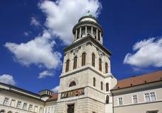 Pannonhalma bågeabbotskloster Royaltyfria Foton