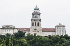 Pannonhalma hungary europe  benedictine abbey Royalty Free Stock Photo