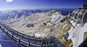 pannoramazugspitze Fotografering för Bildbyråer