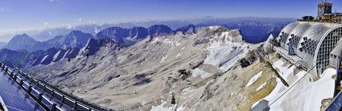 pannoramazugspitze Royaltyfri Fotografi