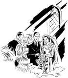 panny młodej ceremonii kwiatu ślub Zdjęcia Stock