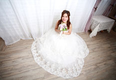Panny młodej czekania ślub obrazy royalty free