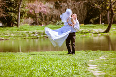 panny młodej dzień fornala ślub Obrazy Stock