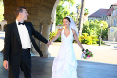 panny młodej fornala ślub Obrazy Royalty Free