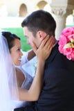 panny młodej fornala ślub Obraz Royalty Free