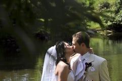 panny młodej fornala całowanie fotografia royalty free