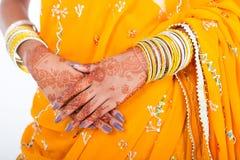 panny młodej hindusa ślub Obraz Stock