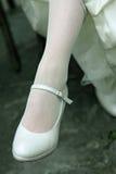 panny młodej noga obrazy stock