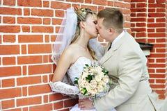 panny młodej fornala buziak Obraz Stock