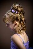 Panny młodej fryzura Zdjęcia Stock