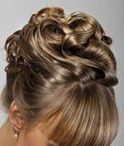 Panny młodej fryzura Obrazy Stock