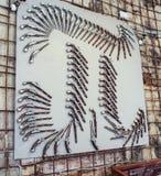 Pano сделало оружи Стоковое Фото