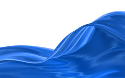 pano azul ilustração do vetor
