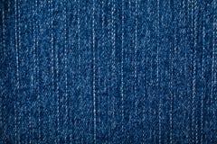 Pano azul da sarja de Nimes para o fundo imagens de stock royalty free