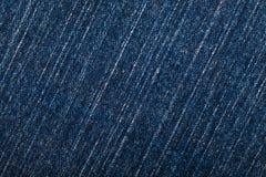 Pano azul da sarja de Nimes para o fundo fotos de stock