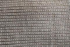 Pano cinzento de lãs foto de stock