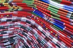Pano de algodão Imagem de Stock