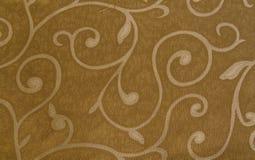 Pano de Brown com textura do teste padrão Foto de Stock Royalty Free