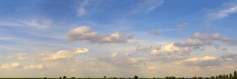 Pano de ciel Photo libre de droits