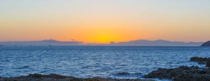 Pano de la isla del sur Imagen de archivo