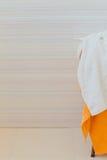 Pano de terry macio de toalha Foto de Stock