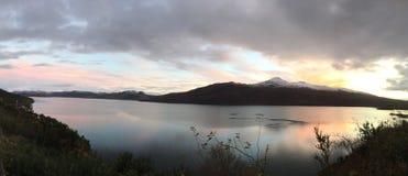 Pano del alsh del lago Fotos de archivo libres de regalías