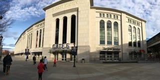 Pano del estadio de NY Foto de archivo libre de regalías