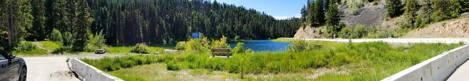 Pano del lago Gulliford immagini stock libere da diritti