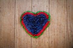 Pano do coração Imagens de Stock Royalty Free