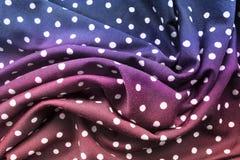 Pano drapejado colorido foto de stock royalty free