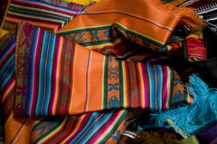 Pano mexicano Imagens de Stock Royalty Free