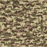 Pano militar da camuflagem sem emenda da infantaria abstraia o fundo Ilustração do vetor ilustração stock