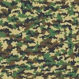 Pano militar da camuflagem sem emenda da infantaria abstraia o fundo Ilustração do vetor ilustração do vetor