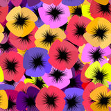 Pano sömlös blommapensé Royaltyfria Foton