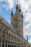 Pano Salão de Ypres, Bélgica Fotografia de Stock