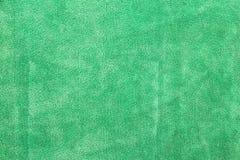 Pano verde do microfiber fotografia de stock