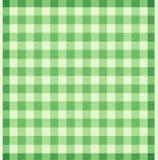 Pano verde escocês Fotos de Stock