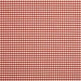 Pano vermelho da verificação Fotos de Stock