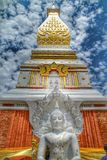 Panom Temple. In Nakorn Panom Thailand Stock Photography