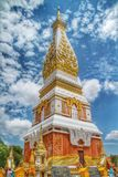 Panom Temple. In Nakorn Panom Thailand Stock Photos