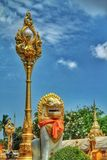 Panom Temple. In Nakorn Panom Thailand Royalty Free Stock Photo