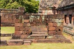 Panomrung historical park, Thailand Royalty Free Stock Photo